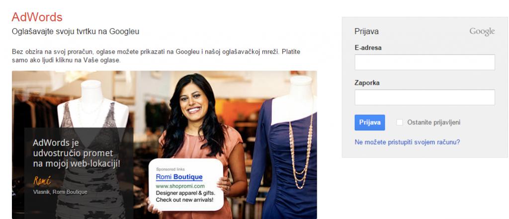 Tri Koraka Do Uspješnog Google AdWords Oglasa