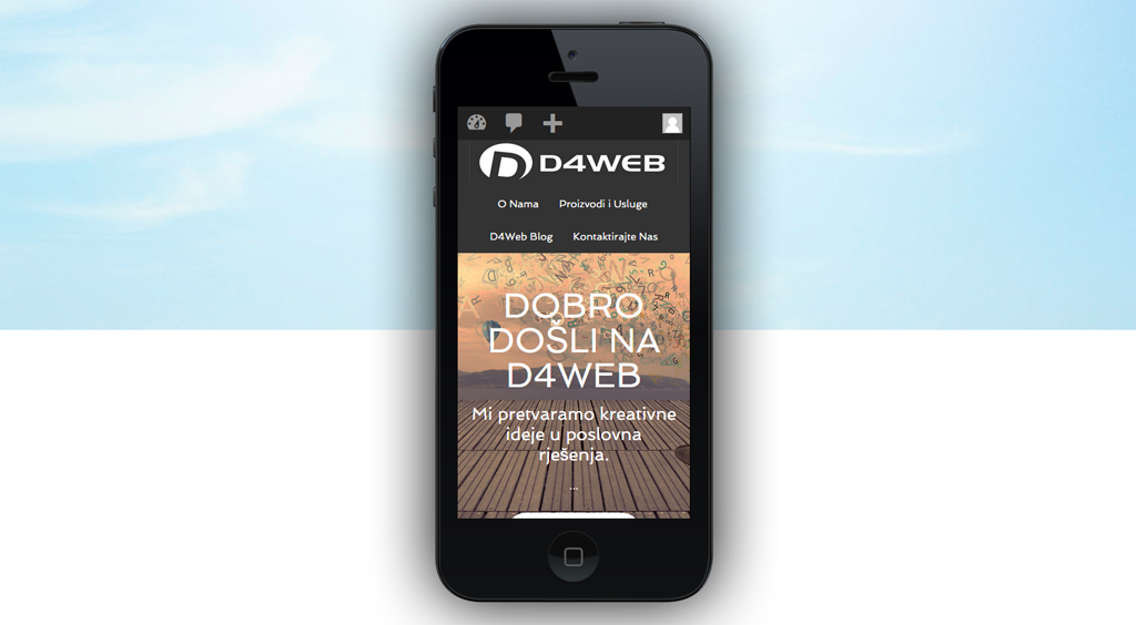 D4WEB mobile test