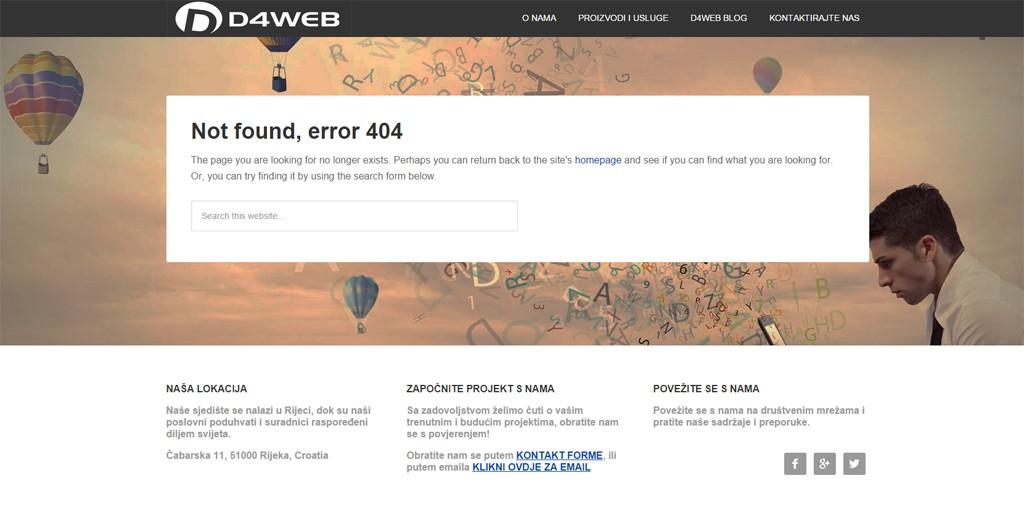 d4web 404 page